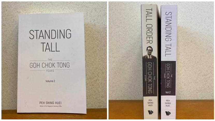 Standing Tall: Part 2 of Goh Chok Tong's authorised biography out this year