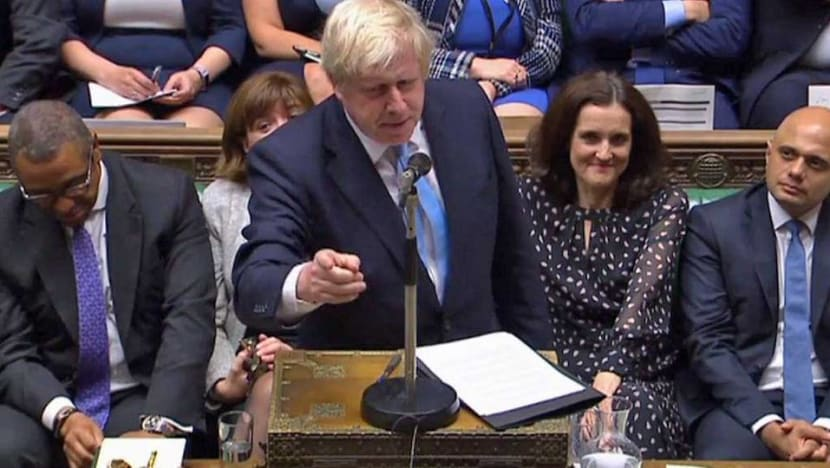 British MPs inflict fresh blow on Johnson over Brexit documents