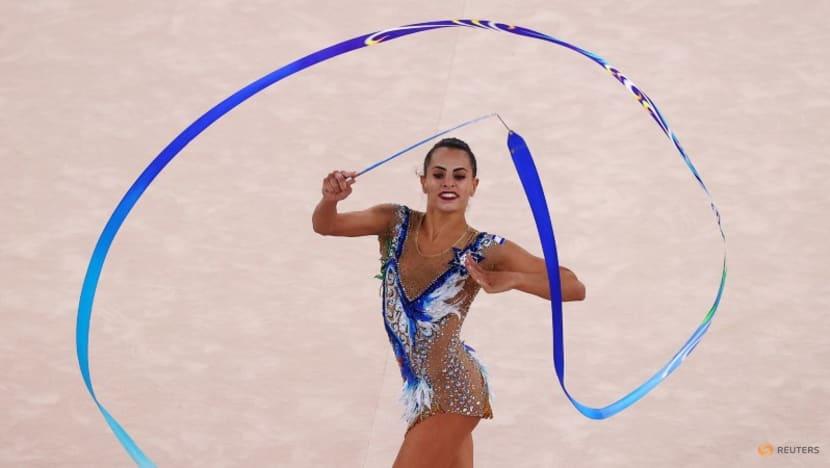 Olympics-Rhythmic Gymnastics-Israel's Ashram claims individual gold, ending Russian dominance