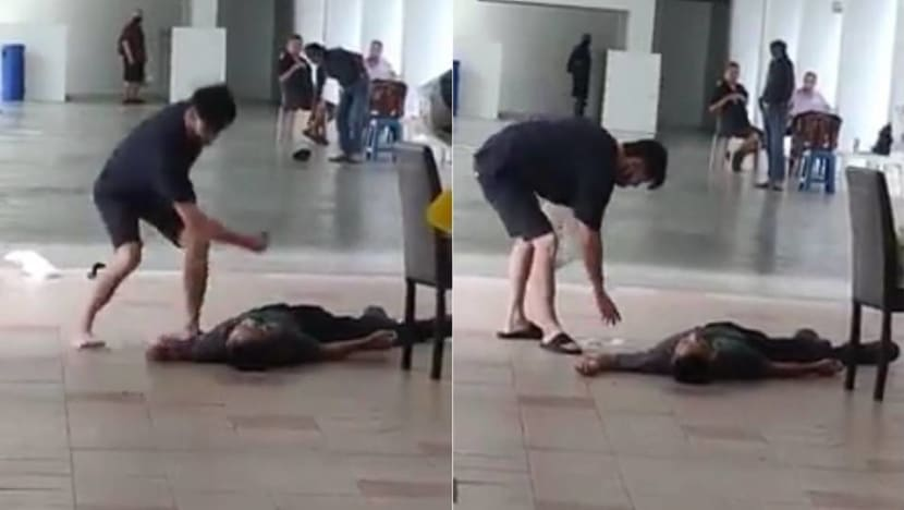 Man in Sengkang void deck fight charged with causing grievous hurt, fracturing man's facial bone