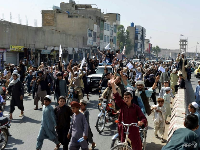 Biden defends US pullout from Afghanistan as Taliban celebrate