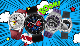 Why are people paying top dollar for cartoon character luxury watches?