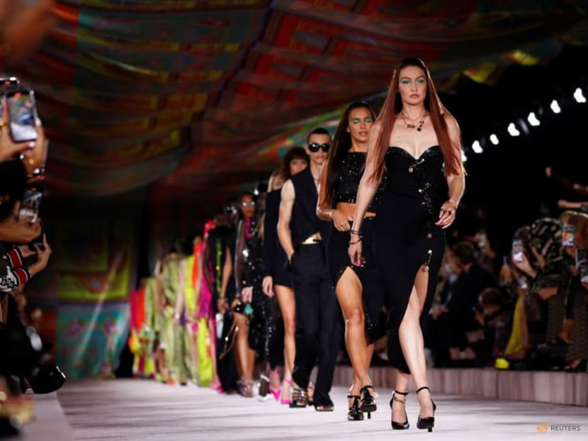 At Milan Fashion Week, stripped back fashion and an epic switcheroo