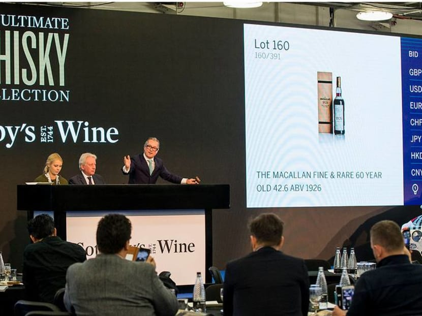 Asian collectors are snapping up the world's rarest wines and spirits at auctions