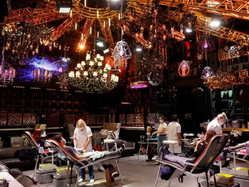 Swiss nightclub, shuttered by COVID-19, reborn as blood donation centre