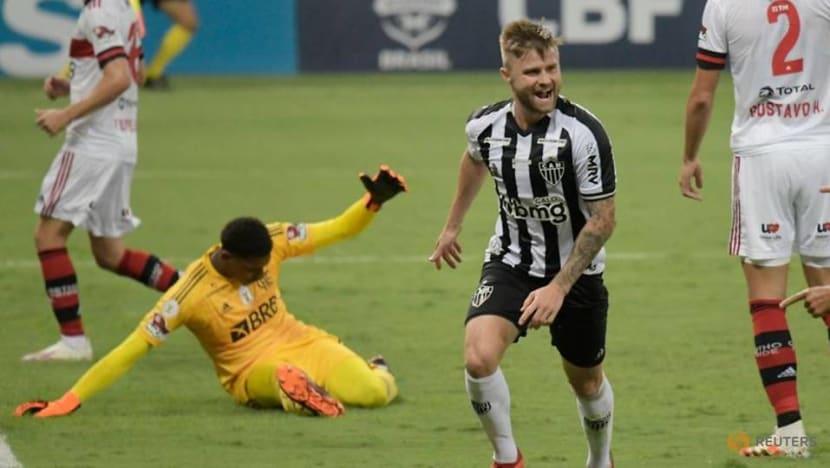 Sasha brace helps Atletico to 4-0 win over Flamengo