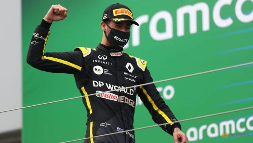 Formula 1: Ricciardo podium means tattoo for the boss and a private 'shoey'