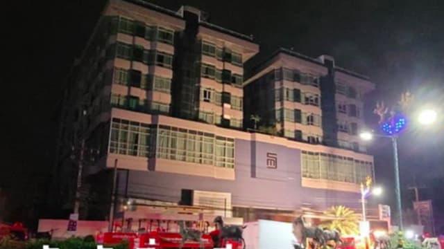 泰国隔离酒店失火 80多名隔离者仓皇逃离