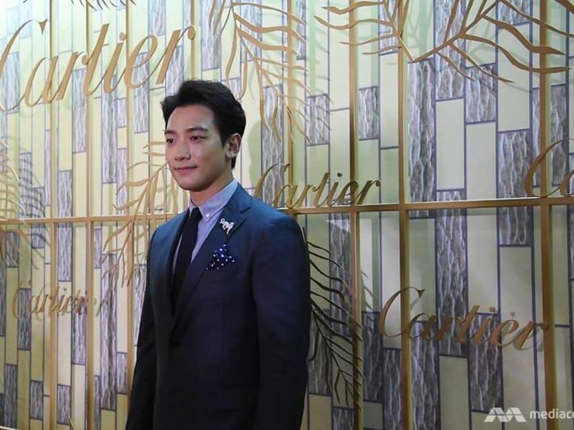 Rain, Zoe Tay, Fann Wong, Rebecca Lim attend Cartier ION flagship re-opening