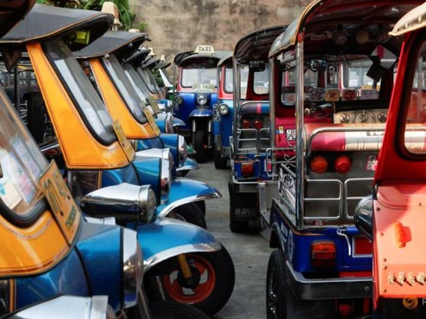 Thailand's tuk tuks, tour buses and boats marooned at Lunar New Year
