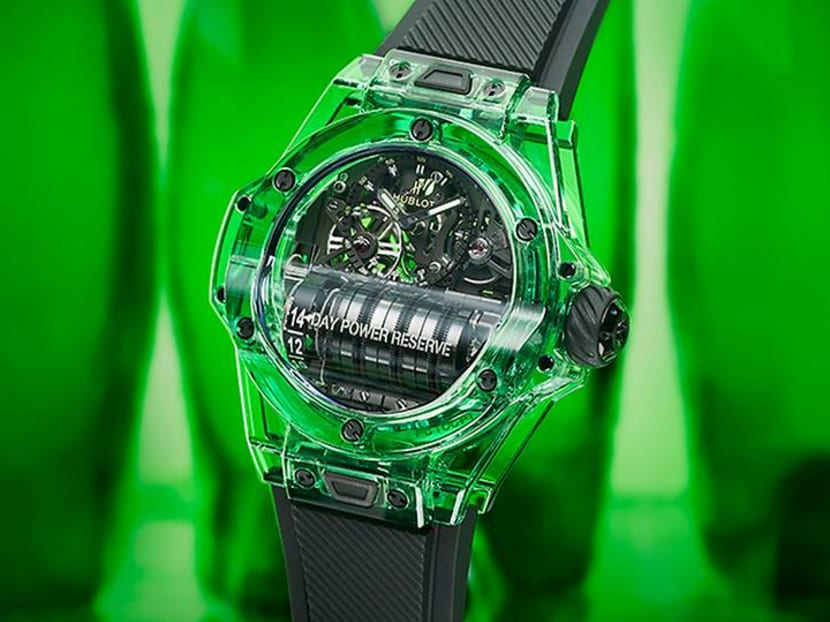 Why this new Hublot Big Bang timepiece will make others green with envy