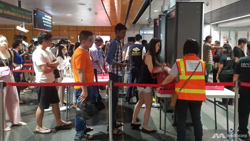 Commuters to undergo screening at HarbourFront MRT during security exercise