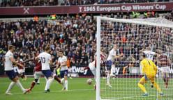 Antonio scores as West Ham sink Spurs in feisty London derby