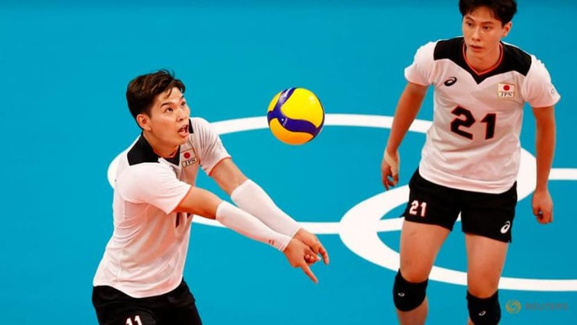 Olympics-Volleyball-Nishida putting his body on the line for Japan