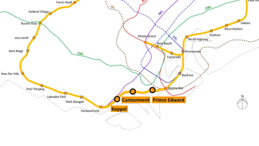 Excavation for final 3 stations of Circle Line to begin mid-2019