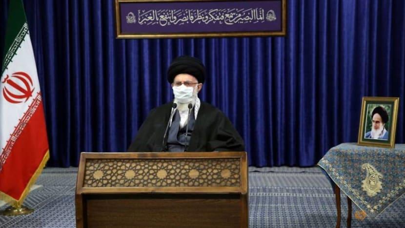 Iran's Khamenei demands 'action' from Biden to revive nuclear deal