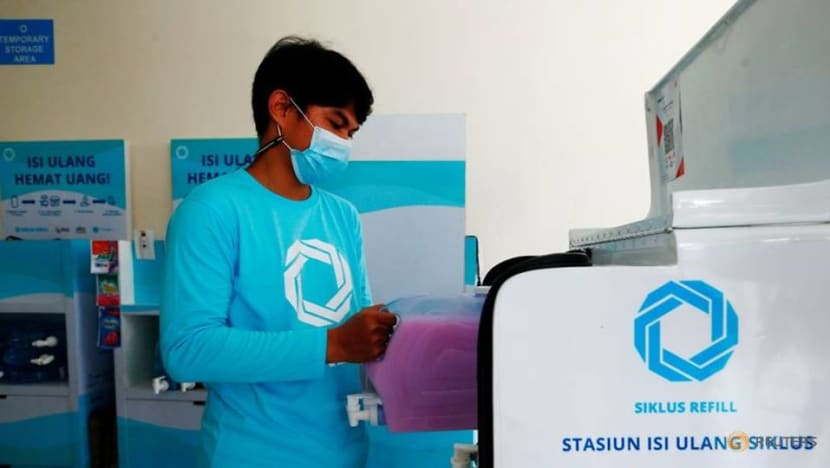 Jakarta start-up provides cleaning products without the plastics