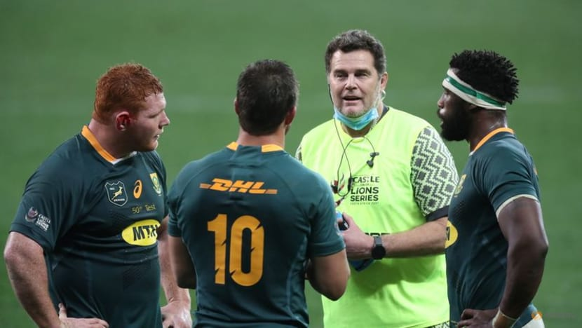 Rugby-Don't tell us how to play, say spiky Boks before crunch Lions test