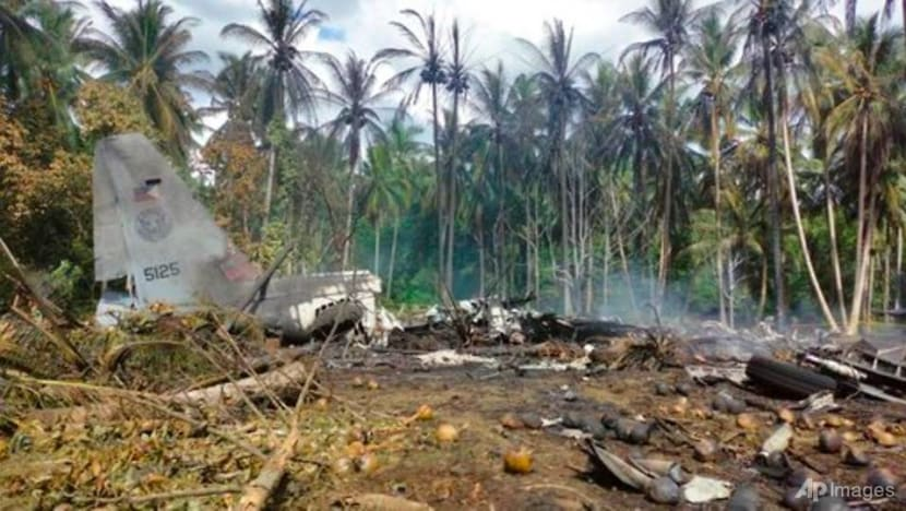At least 45 dead after Philippine military plane crashes