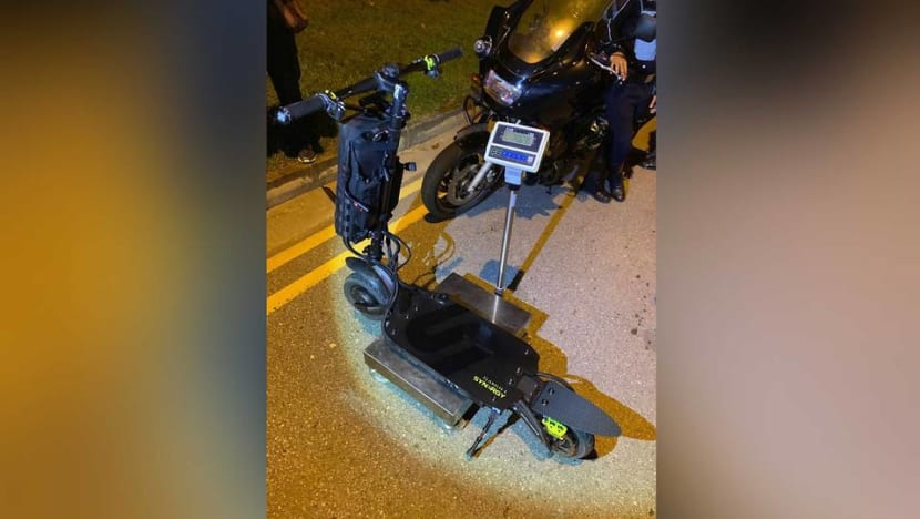 E-scooter shop owner charged with riding PMD on road