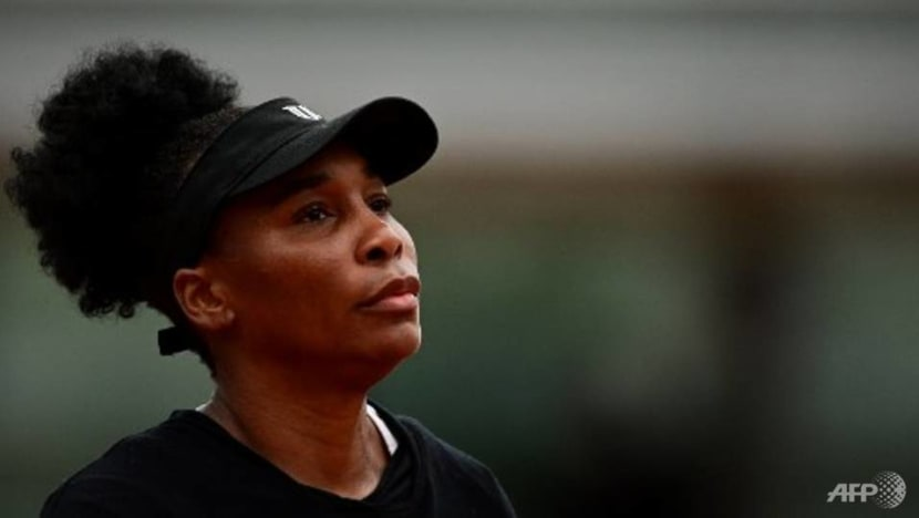Tennis: Venus Williams slumps to opening defeat in Paris