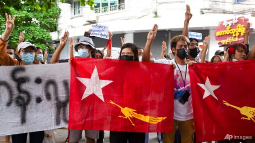 Opponents of Myanmar coup hold protests on Martyrs' Day holiday