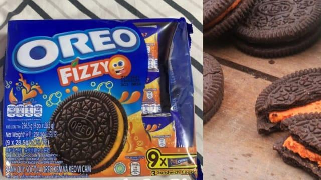 吃饼干像喝汽水 Fizzy orange Oreo限量上市!