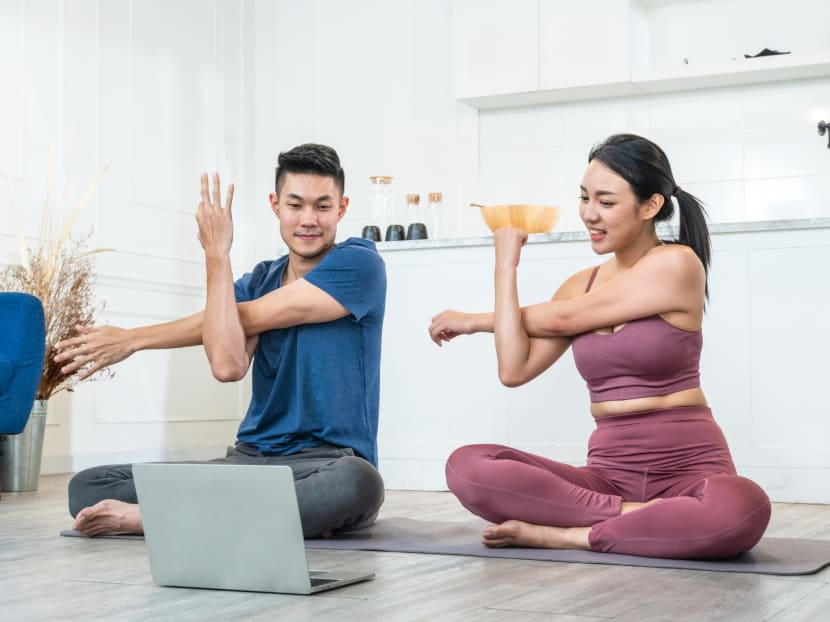 Using TikTok and other tips to stay motivated while exercising during the circuit breaker