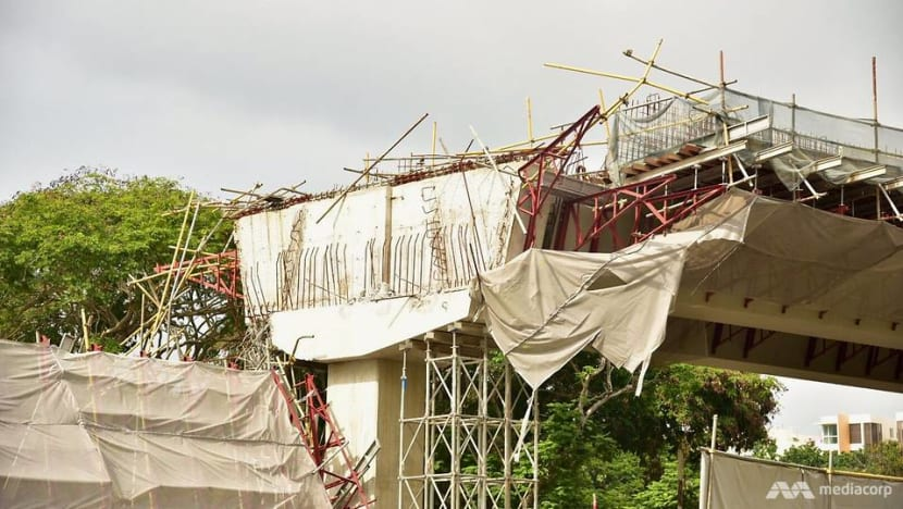 PIE viaduct collapse: Charges against managing director of builder Or Kim Peow withdrawn