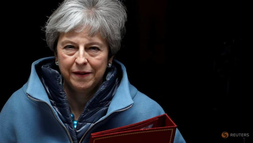 Commentary: Theresa May offers to stand down as British prime minister, but there's a catch