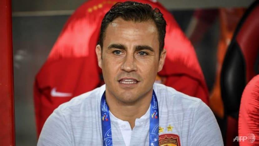 Italian legend Cannavaro named new coach of China