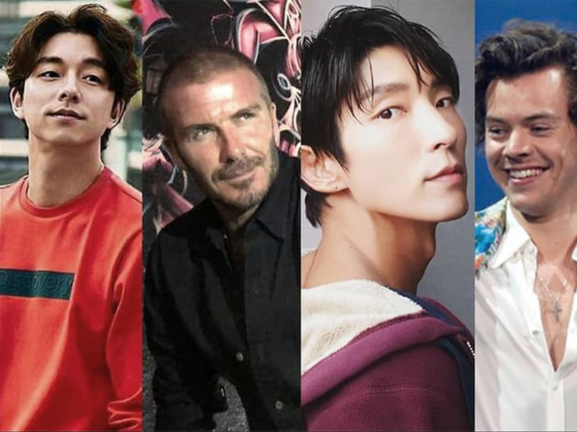 The five hairstyles for men now: From Gong Yoo's curly locks to David Beckham's buzz cut