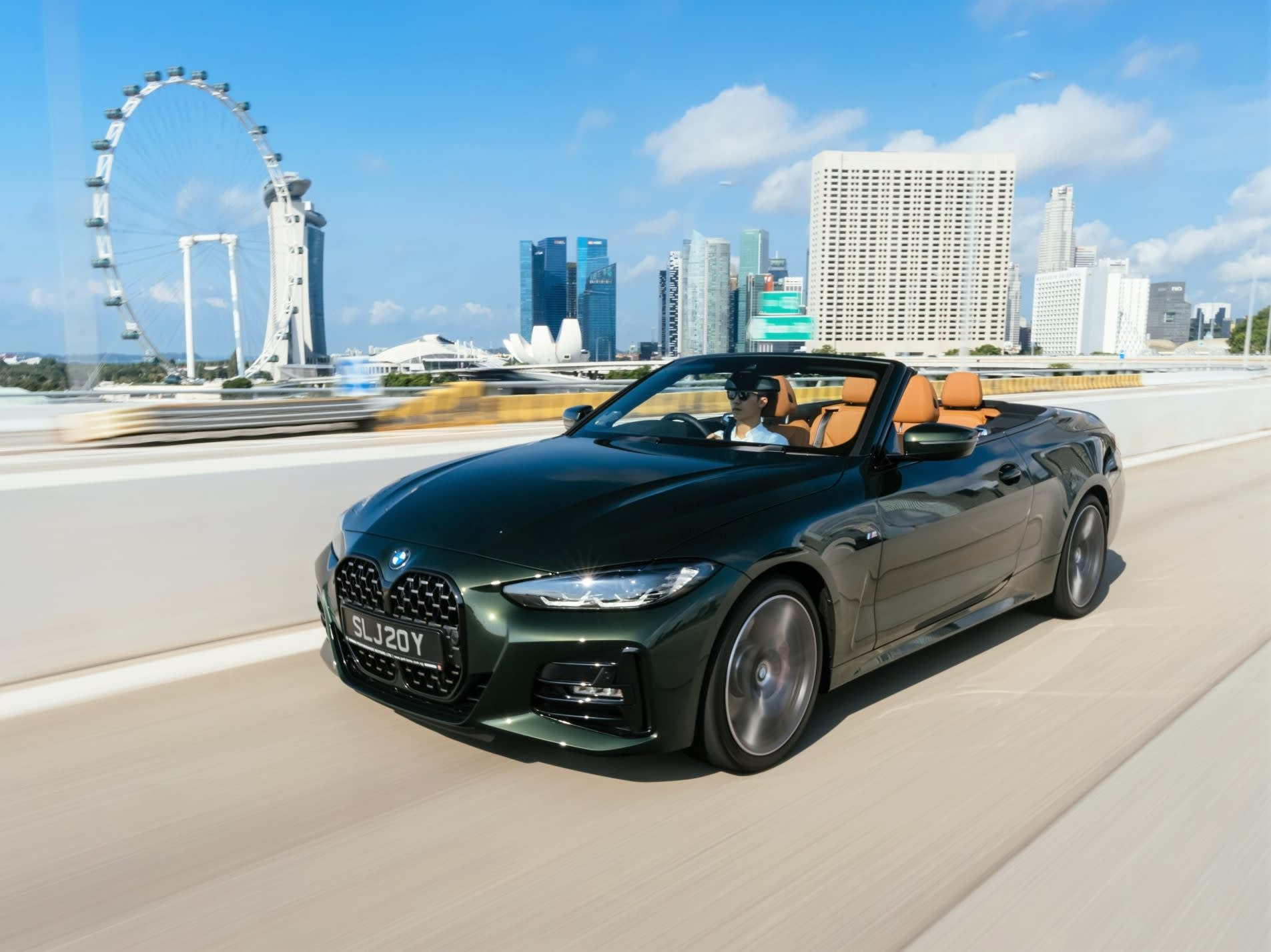 The new BMW 4 Series Convertible takes top-down motoring back to the future