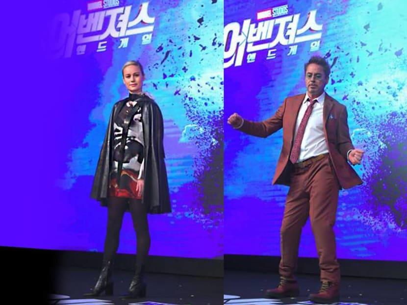 Endgame: Thanos 'should be scared', says Captain Marvel's Brie Larson in Seoul