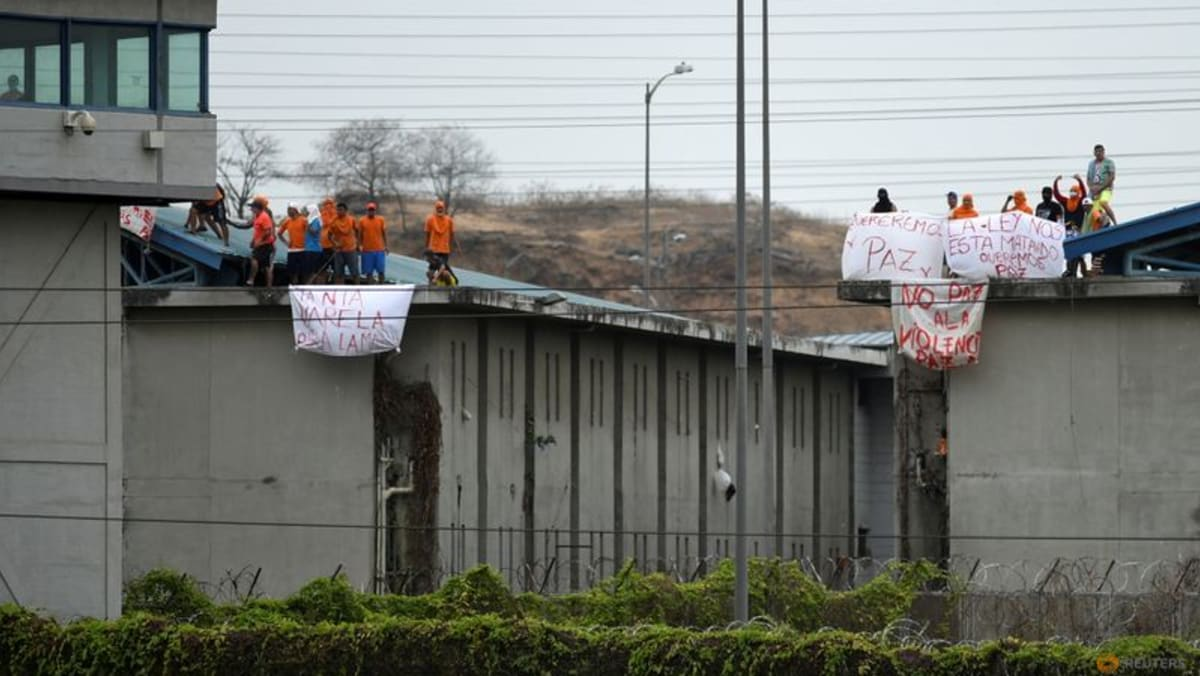 Seven prisoners found dead in Ecuador jail affected by riots