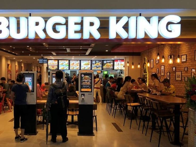 Burger King Singapore to stop providing plastic lids and straws for drinks