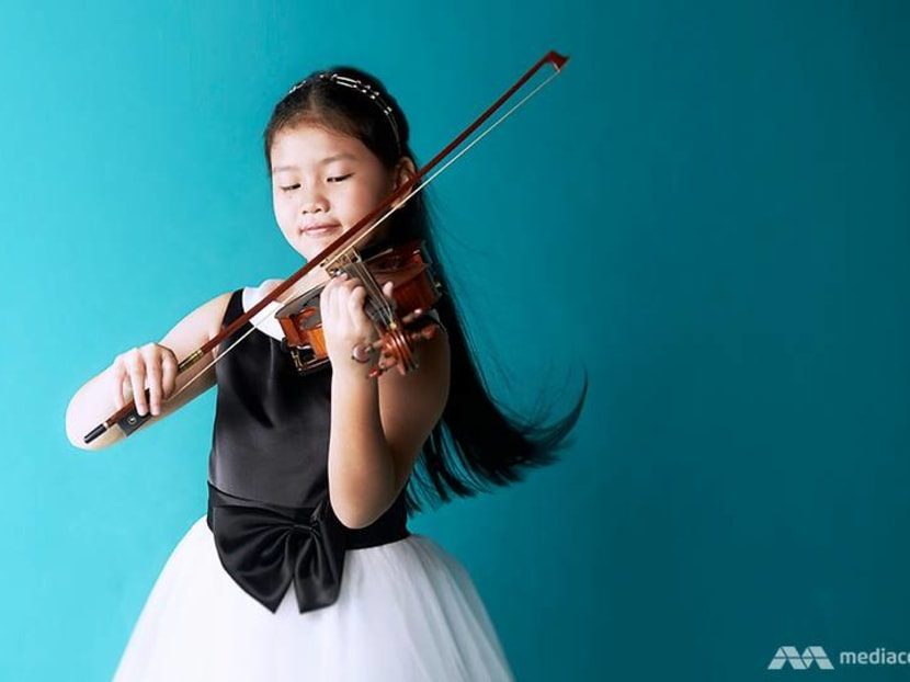 From Singapore to Carnegie Hall: Meet 8-year-old violinist Freya Kylie Lim