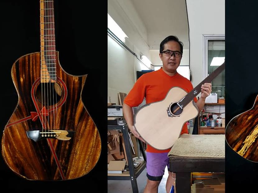 Creative Capital: The Singaporean who crafts guitars and teaches you how to make your own