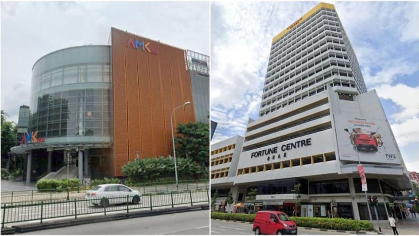 FairPrice Xtra at AMK Hub, eatery at Fortune Centre among places visited by COVID-19 cases