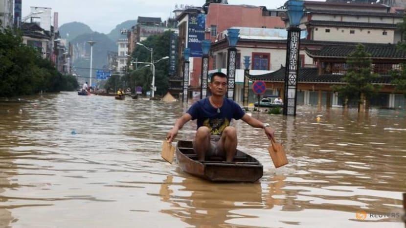 Commentary: Amid urban sprawl, China builds 'sponge cities' to soak up heavy rainfall