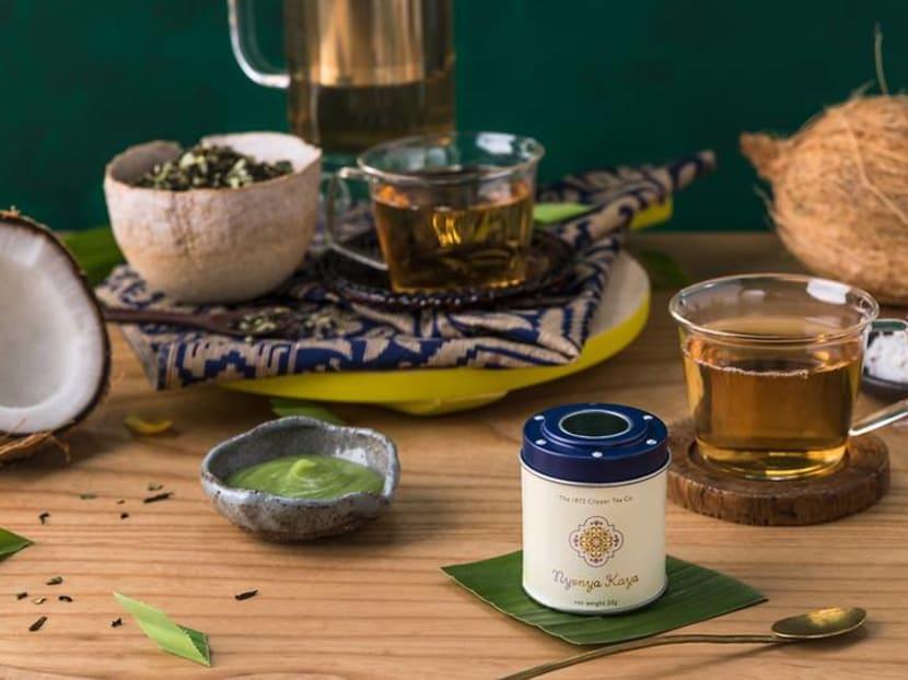 Inspired by Nyonya kueh, these tea flavours taste like kaya or gula melaka