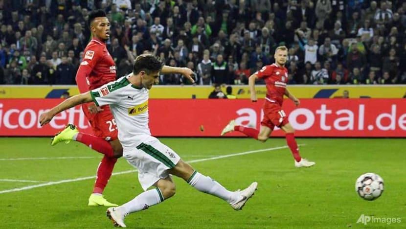 Football: Hofmann hits hat-trick against ex-club Mainz as Gladbach go second