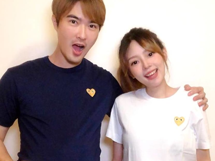 TV host Lee Teng and fiancee announce pregnancy news on Instagram
