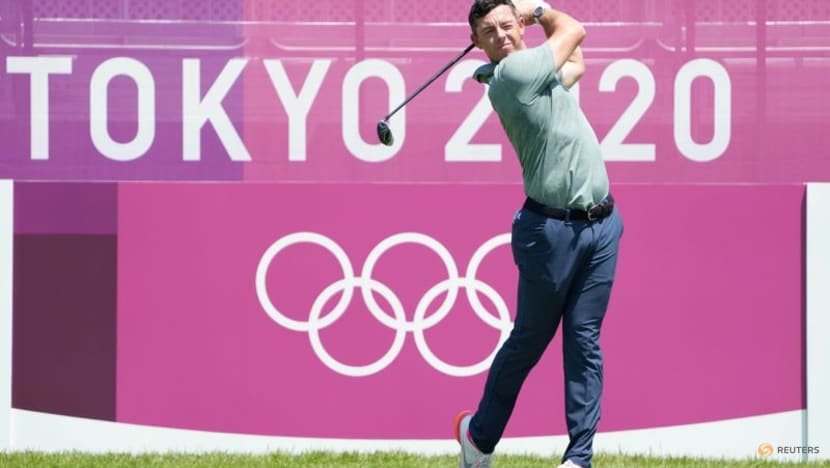 Golf-McIlroy, bitten by Olympic bug, looks forward to 2024 Paris Games