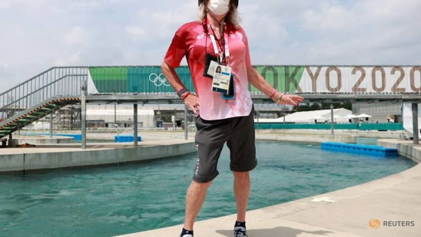 Olympics-Canoeing-Transgender judge champions daughter's fight for gender equality