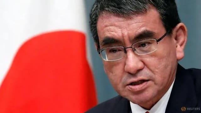 河野太郎宣布参选日本自民党总裁 有望成下一任首相