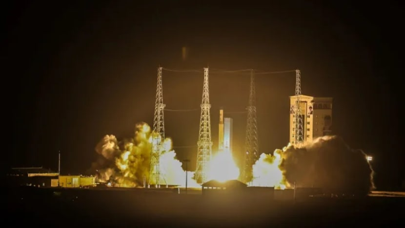 Iran says military satellite launched amid US tensions