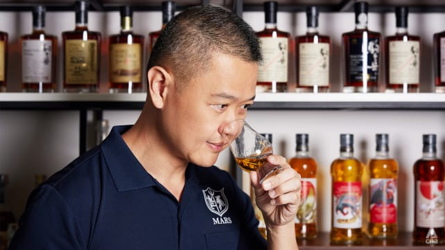 The Singaporean who collects Mars, a Japanese whisky you've never heard of