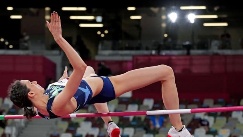 Athletics: Emotional Lasitskene soars to high jump gold