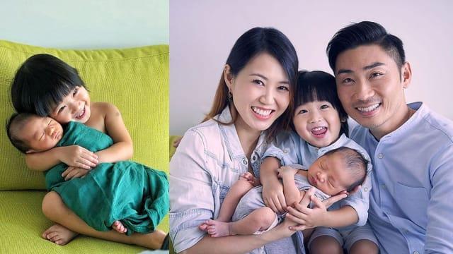 二儿子刚满月 郑可为:我做好准备生第3胎了